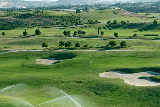 Real de Faula golf course Benidorm