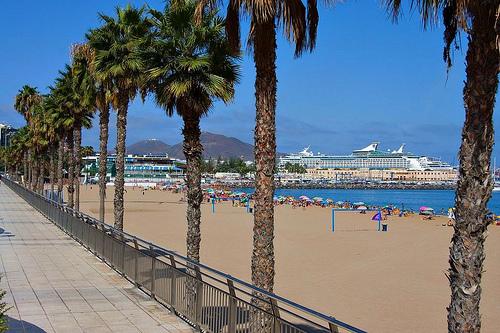 Alcaravaneras Beach Las Palmas