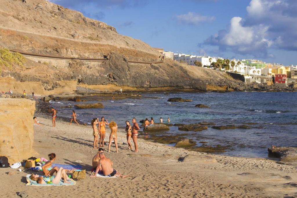 El Confital Beach Las Palmas Gran Canaria