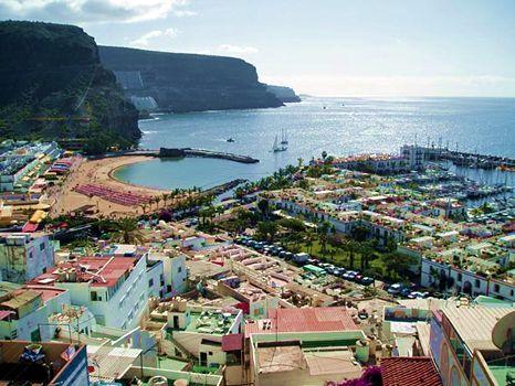 Puerto de Mogan Beach Gran Canaria