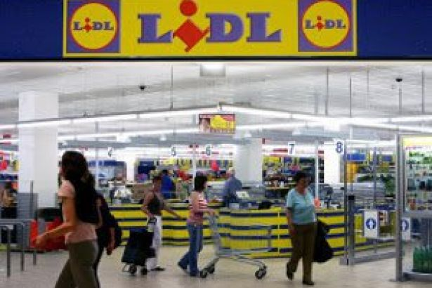 Lidl Supermarket Spain