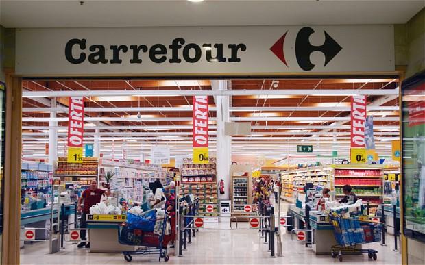 Carrefour Supermarket Spain