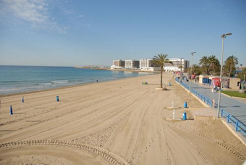 Playa del Postiguet in Alicante