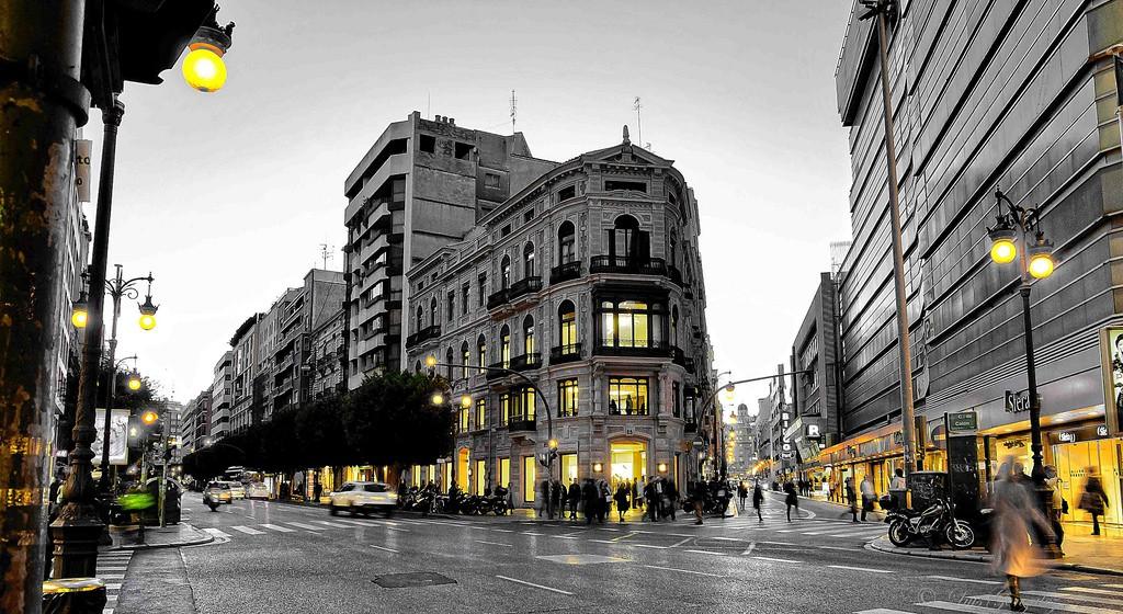 Shopping streets Valencia