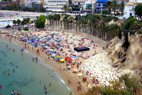 Playa Cala Mal Pas in Alicante