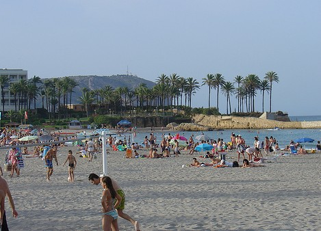 Playa el Arenal in Alicante