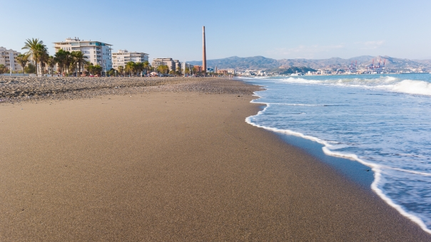 Misericordia Beach in Malaga