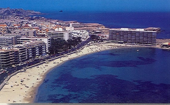 Playa de Los Locos in Torrevieja