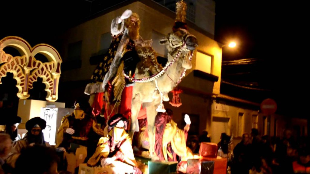 Three Kings Parade in Torrevieja