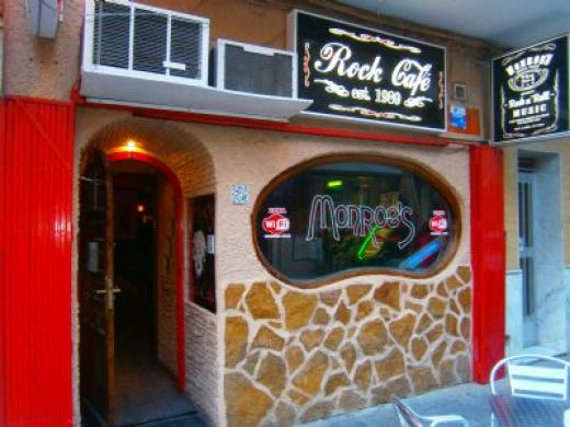Monroes Rock Cafe in Torrevieja