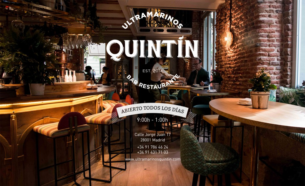 Restaurant Ultramarinos Quintin in Madrid