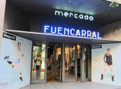 Fuencarral market in Madrid