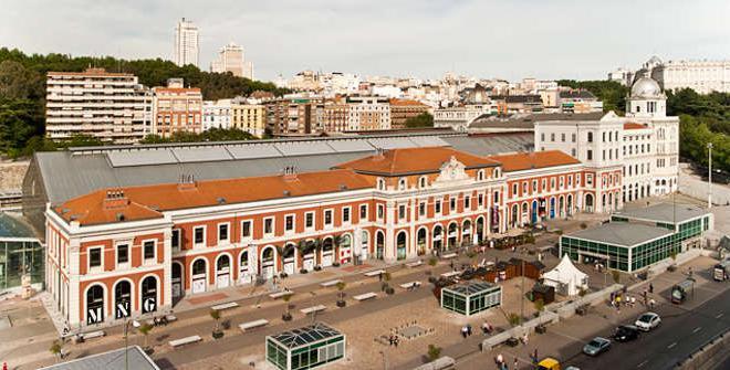 Shopping center Principe Pio in Madrid