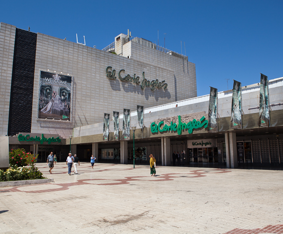 Shopping in malaga markets and shopping centers rent a for El corte ingles fuerteventura