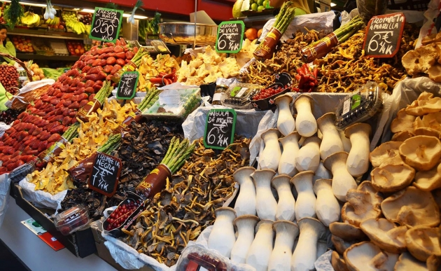 Mercado Central Atazanas in Malaga