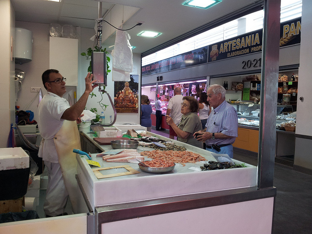 Mercado del Carmen in Malaga