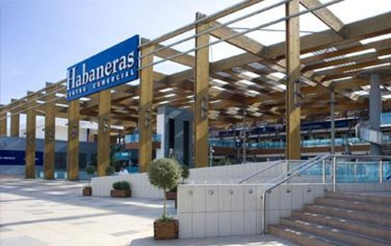Habaneras shopping center in Torrevieja