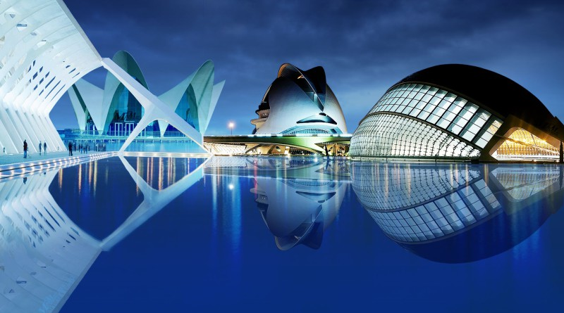 City of science in Valencia