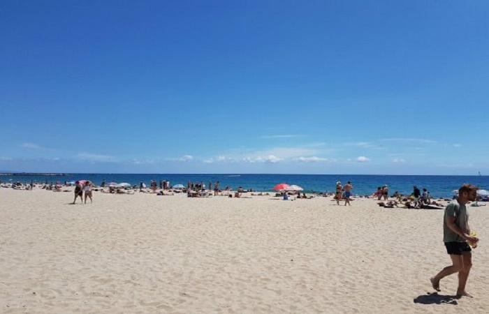 Playa del Bogatell in Barcelona