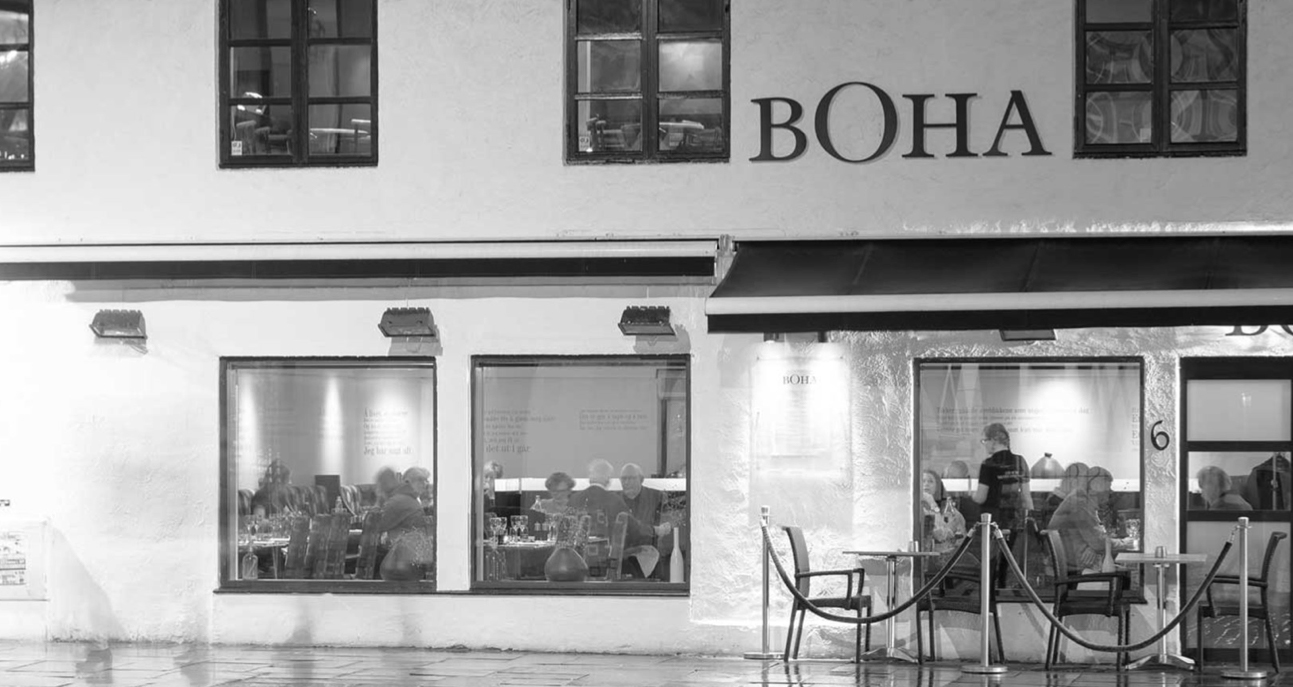 Restaurante BOHA in Bergen
