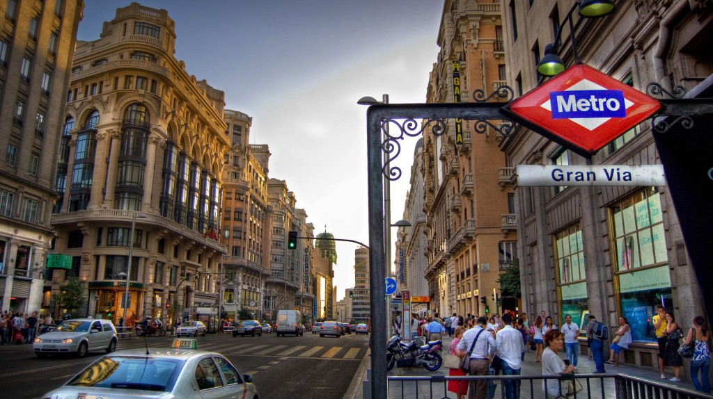 District Gran Via in Madrid