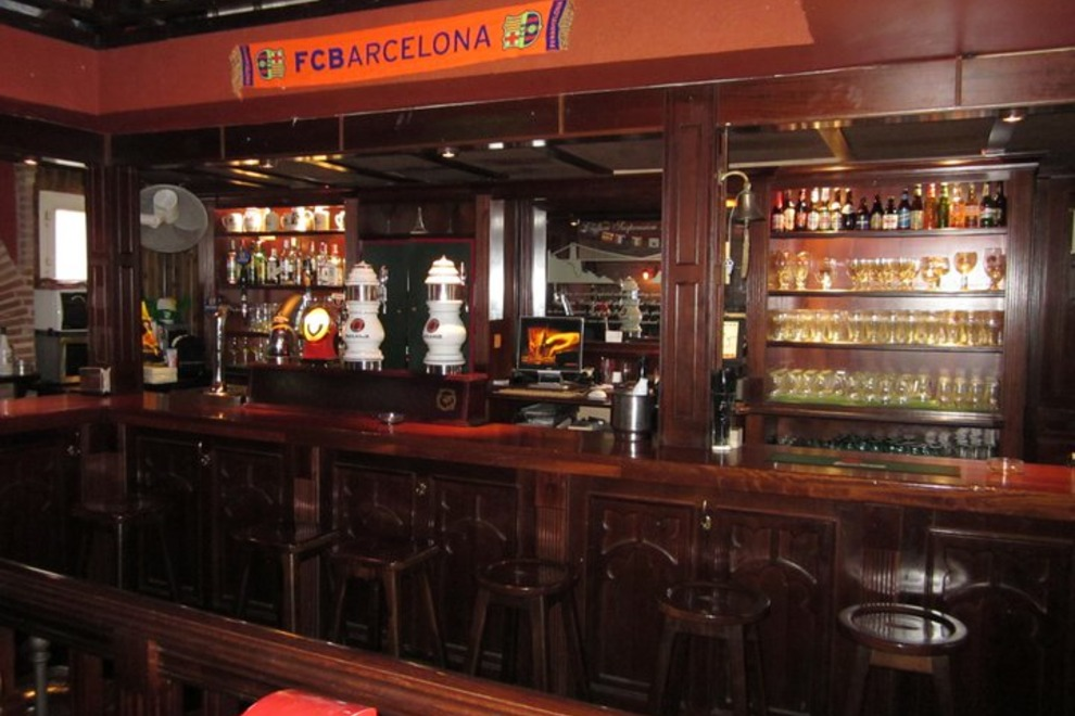 Bristol Blue Bar in Barcelona