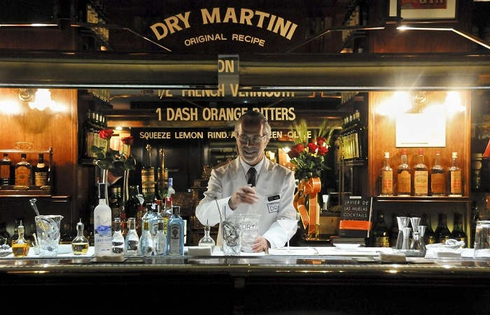 Dry Martini in Barcelona