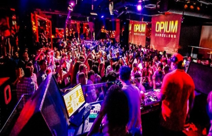 Opium Mar nightclub in Barcelona