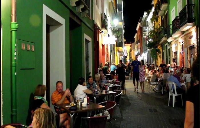 Calle Loreto in Denia