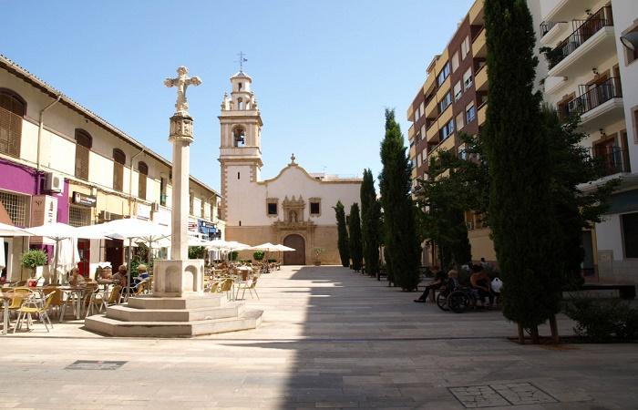 Plaza Convent in Denia