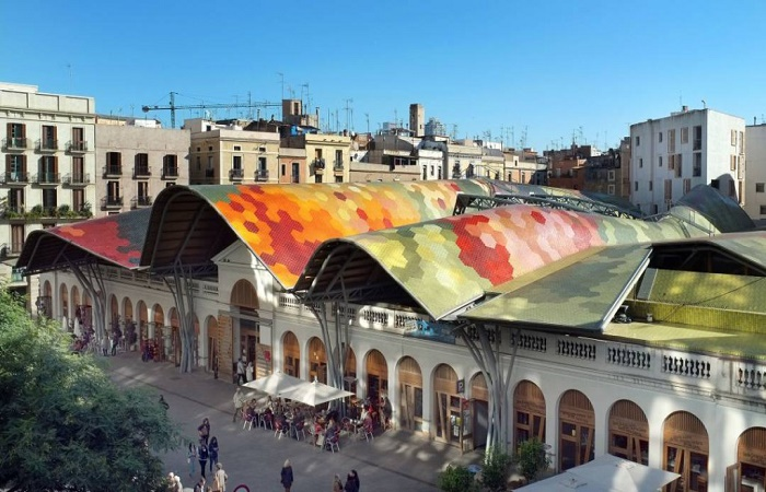 Mercat de Santa Catarina in Barcelona
