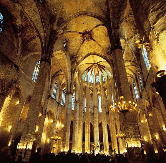 Santa Maria Church in Barcelona