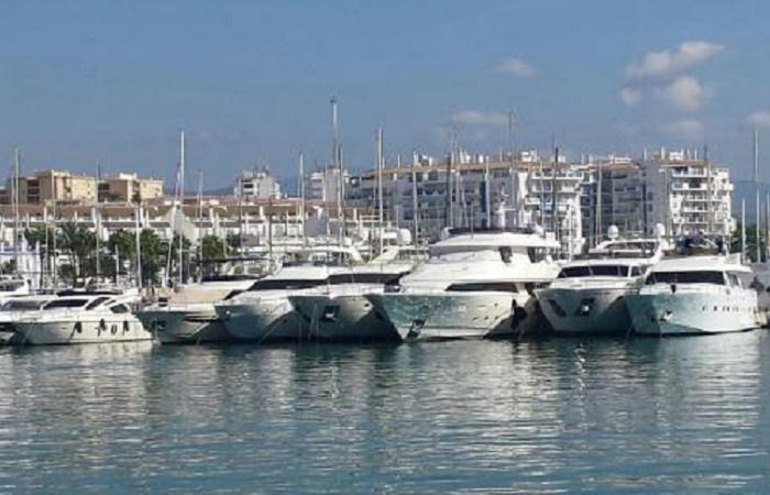 Harbour of Estepona