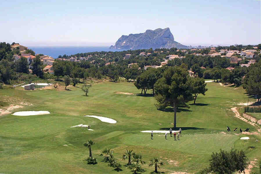 Ifach Golf Course Moraira