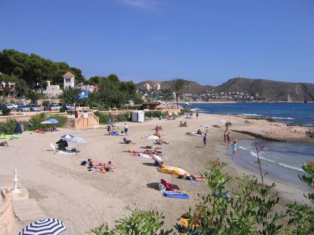 Moraira Platgetes Beach