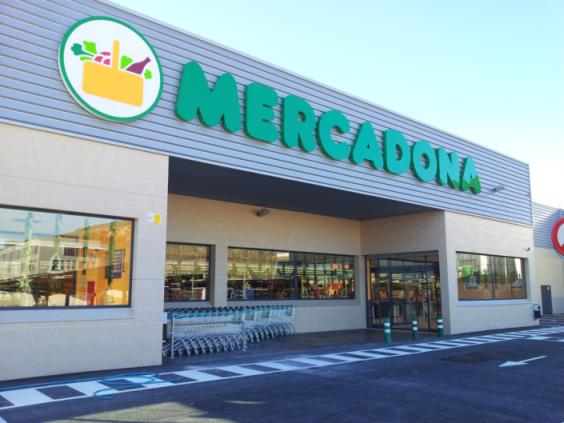 Mercadona Supermarkets Spain