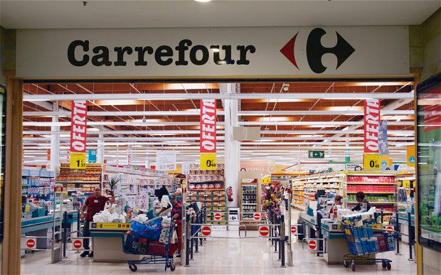 Carrefour Supermarket Spain