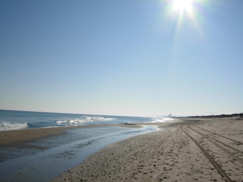 La Devesa Beach in Valencia