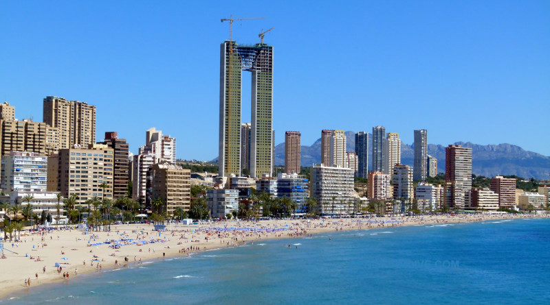 Benidorm in Alicante Province