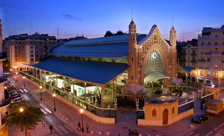 Colon Market Shopping Valencia