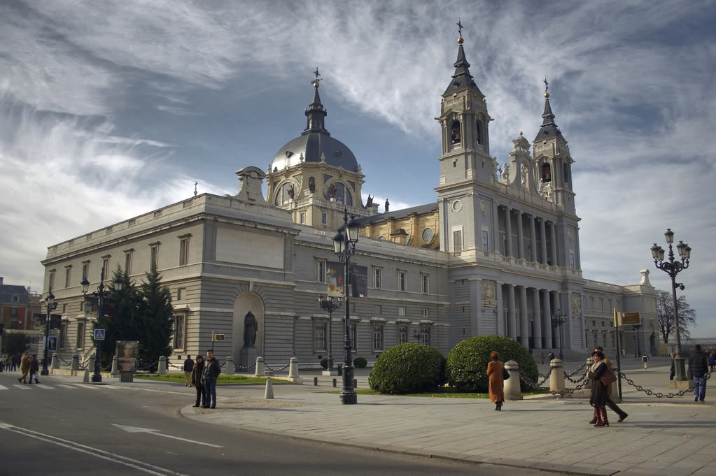 Catedral de la Almudena in Madrid