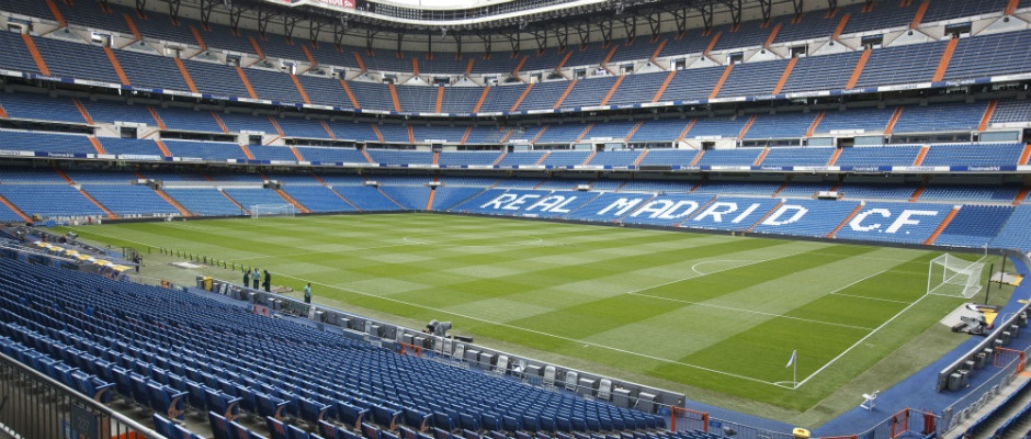 Santiago Bernabeu in Madrid