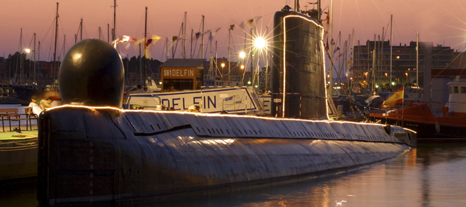 Museo Submarino s61 Delfin in Torrevieja