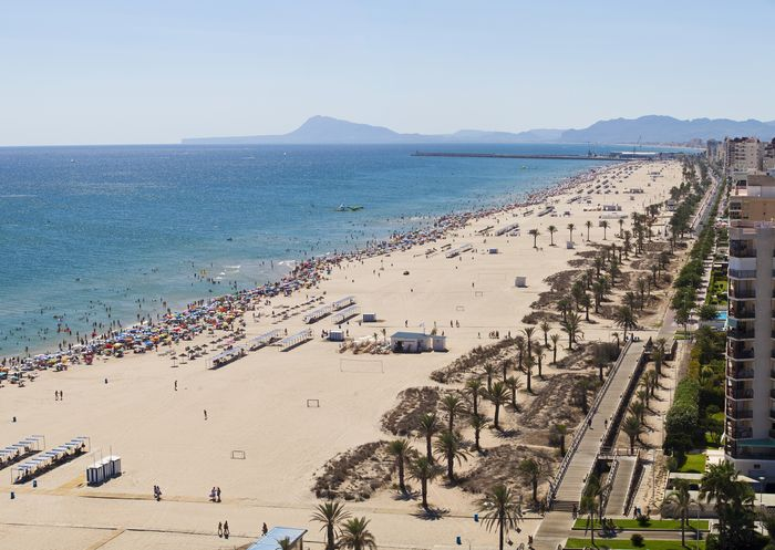 Playa north in Alicante