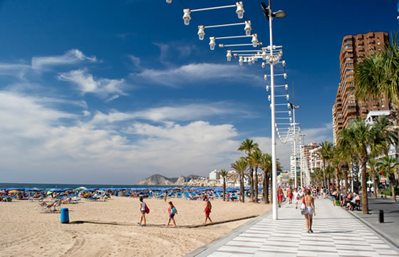 Playa Levante in Alicante