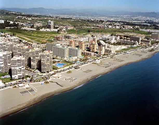 Playa de la Playamar in Torremolinos