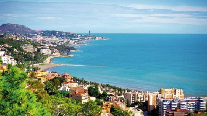 Province Malaga in Spain