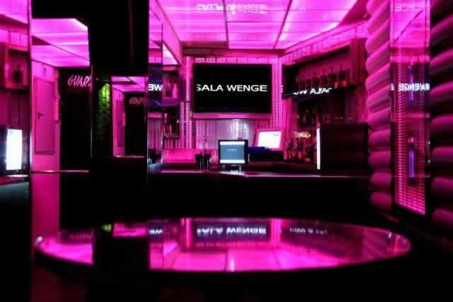 Sala Wenge nightclub in Malaga
