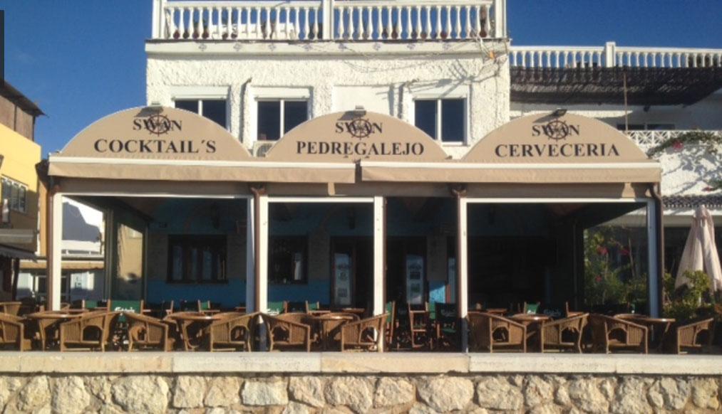 Swan Cafe in Malaga