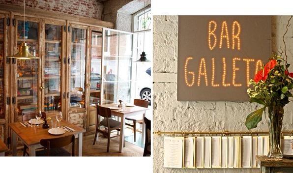 Restaurant Bar Galleta in Madrid
